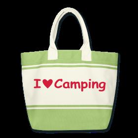 Strandtasche I love Camping